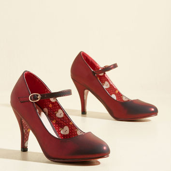 Surprise and Shine Heel | Mod Retro Vintage Heels | ModCloth.com