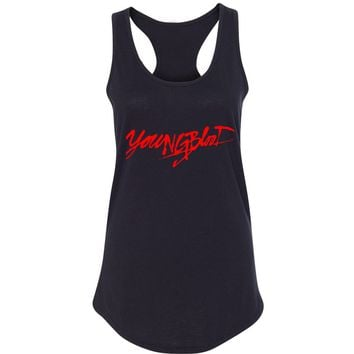 "5SOS 5 Seconds of Summer ""Youngblood"" Racerback Tank Top"