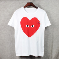 Round-neck Summer Unisex Short Sleeve T-shirts [10016851661]