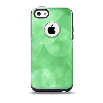 Light Green Unfocused Orbs Skin for the iPhone 5c OtterBox Commuter Case