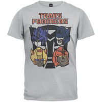 Transformers - Autobot Heads Logo T-Shirt
