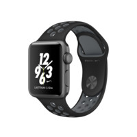 Apple Watch Nike+, 38mm Space Gray Aluminum Case with Black/Cool Gray Nike Sport Band