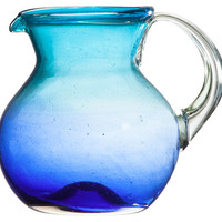 Cardiff Pitcher, Blue, Pitchers & Carafes
