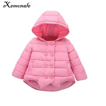 Xemonale Baby Girls Winter Coats baby Coat Cotton baby Coat Toddler Warm infant Jacket Winter Outerwear Thick Girl Clothing