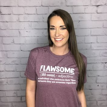 Southern Couture Flawsome Tee