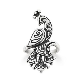 Festive Peacock Ring | James Avery