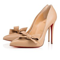 Christian_louboutin Madame Menodo Shoes Dress Shoes Nude