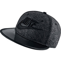 Nike Palm Crew Women's Snapback Hat Cap Black/Grey 739406-060 (Size os)