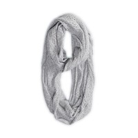 AEO Women's Pointelle Loop Scarf (Pink)