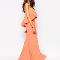 Jarlo Tall Lily Extreme Double Layer Maxi Dress