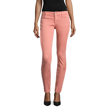 Arizona Luxe Stretch Twill Jeggings-Juniors - JCPenney