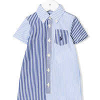 Ralph Lauren Kids Striped Button Down Shorties - Farfetch