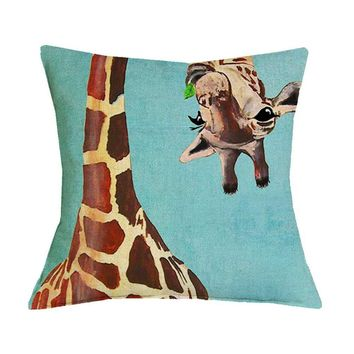 Animal Prints Giraffe Pillow Case