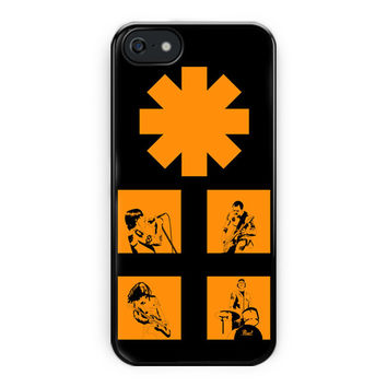 Red Hot Chili Peppers Rock Band iPhone 5/5S Case
