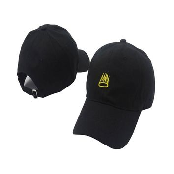 J Cole New Born Sinner Crown Baseball Cap Curved Bill Dad Hat