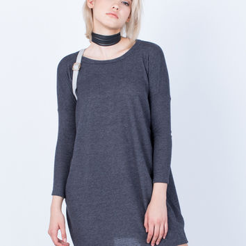 Relaxed Knit Dress