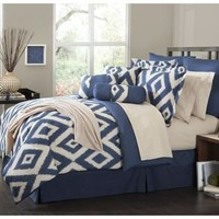 -The Great Find 16 Piece Comforter Set Durham-Bed & Bath-Decorative Bedding-Comforters & Sets