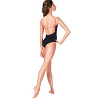 "Adult ""Darya"" Pinch Front Camisole Leotard"