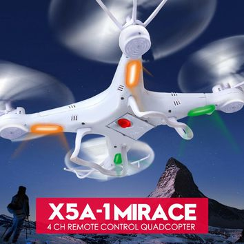 SYMA X5A-1 Remote Control Drone 2.4G 4CH Outdoor RC Quadcopter Without Camera For Novice Kids Children Boys Toys Birthday Gifts