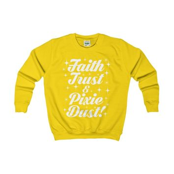 Faith Trust & Pixie Dust - Junior Tee