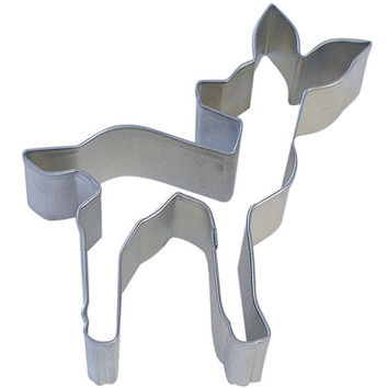 Fawn baby Deer Cookie Cutter 4.5""