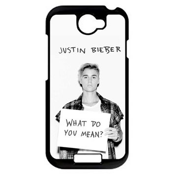 Justin Bieber What Do You Mean HTC One S Case