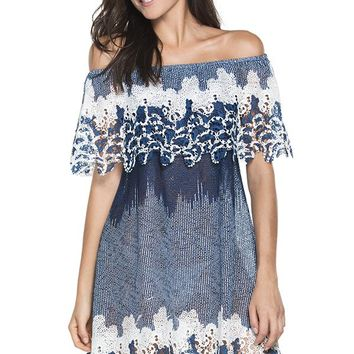 AGUA BENDITA Bendito Hattie Mist Dress