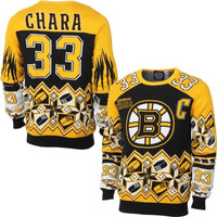 Boston Bruins Zdeno Chara Official NHL Sweater