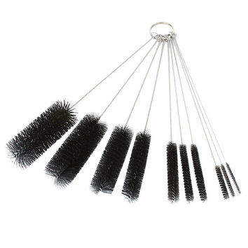 10PC Black coloe Multi-Functional Tools Brush Spray Brush Pots Bottle Liquor cleaning tools brush set on sale
