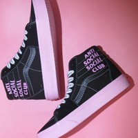 Anti Social Social Club x DSM x Vans Vault SK8-Hi High-top Sneaker