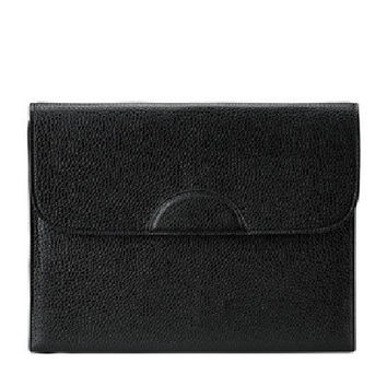 Portfolio Case Scotch Grain Pebble Leather | Black
