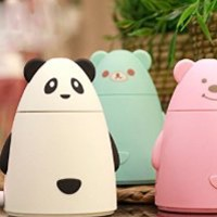 Samgoo Creative Cute Style Silent Mini USB Humidifier for Home& Office (Green)