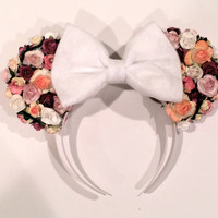 Sleep Beauty Inspired Minnie Mouse Ears