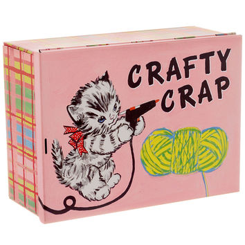 Crafty Crap Large Treasure Tin
