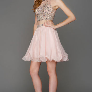 KC15638 Jeweled 2 Piece Homecoming Dress Amelia Collection by Kari Chang Couture