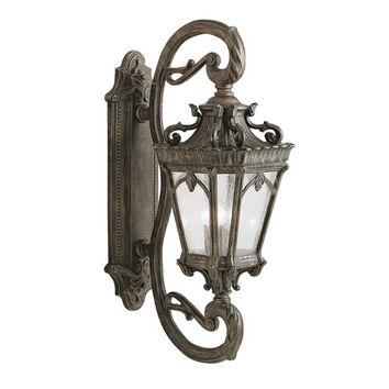 Kichler 9359LD Tournai Extra-Large Outdoor Wall-Mounted Lantern