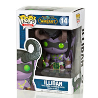 Funko POP! Games World Of Warcraft Demon Hunter Illidan Vinyl Toy Figure Kids Boys Girls Christmas Birthday Gift 10cm/4in