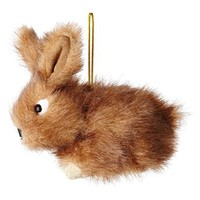 MarthaHoliday™ Into the Woods Plush Rabbit Christmas Ornament