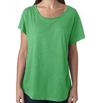 Yoga Clothing for You Womens TriBlend Dolman Tee Shirt