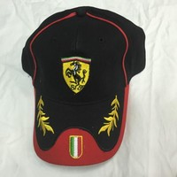Unisex Ferrari Cap Hat  both men and women