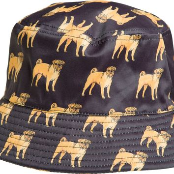 DOG LIMITED PUG BUCKET HAT