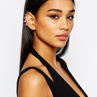 River Island Multi Hoop Ear Cuff