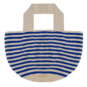 Wayuu Tote Bag - Blue/Beige