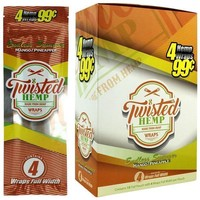 Twisted Hemp Blunt Wraps Endless Summer Flavor (60 wraps)