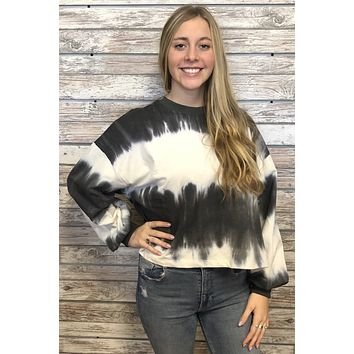 Sunset Lover Top- Charcoal