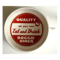ORE Pet Doggie Diner Bowl - Red