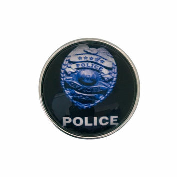 Police Shield Snap 20mm (1670)