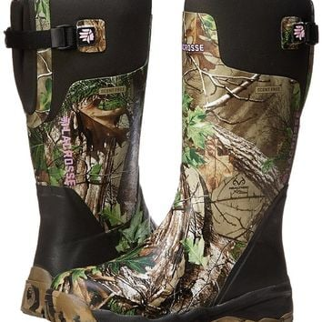 LaCrosse Women's Alphaburly Pro 15 Realtree APG HuntinG Boot,Green/Brown,7 M US