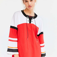 P.E Nation Red Rocket 3/4-Sleeve Tunic Top - Urban Outfitters