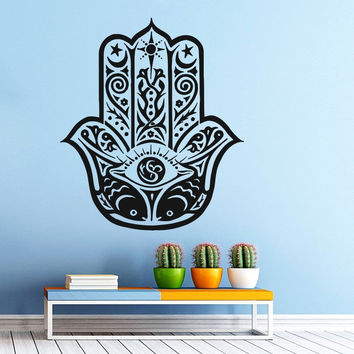 Hamsa Hand A Vinyl Wall Decal